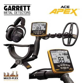 Garrett ACE APEX + MS-3 Z-Lynk Kopfhörer