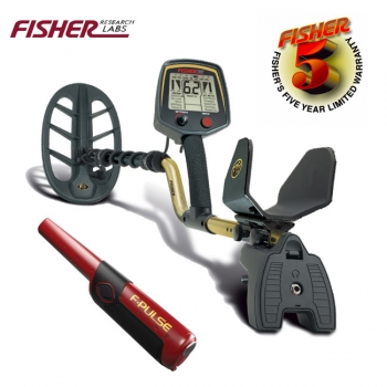 Fisher F75+ / + GRATIS F-Pulse Pinpointer