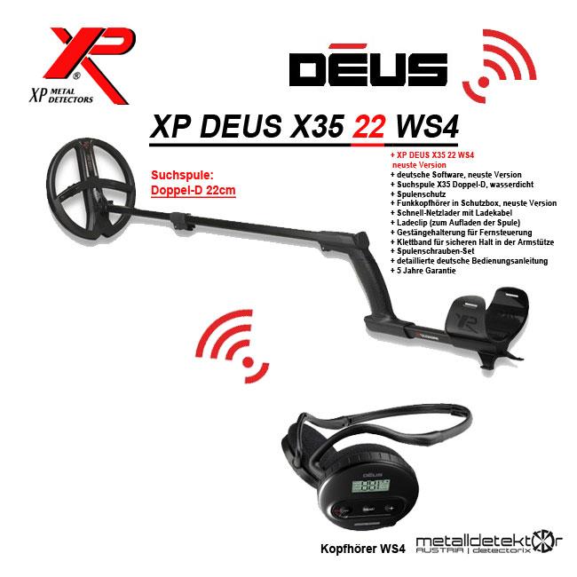 Mobiles Ladegerät für den XP Deus XP Detektoren Ferrum